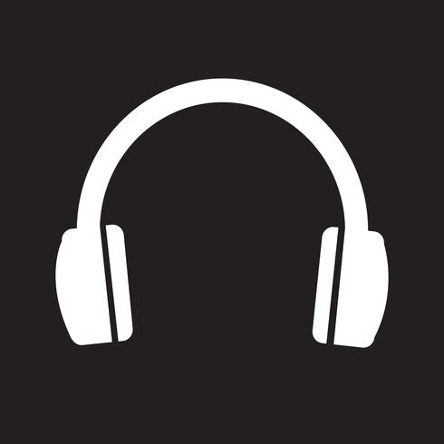 Headphones Icon Symbol Sign Music Logo Design Vector Free Logo Design Art