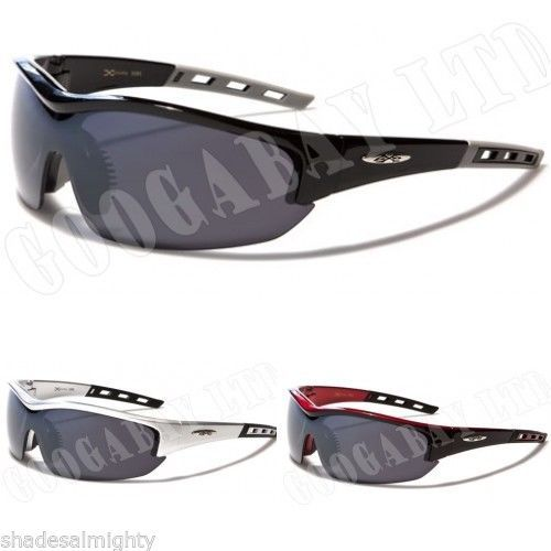 79b4d1502f XLOOP mens designer sports wrap around sunglasses various colours 470 new