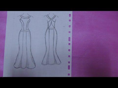 e0e2e8a864 Como Hacer Un Vestido Largo De Fiesta - YouTube Como Cortar Un Vestido