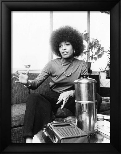 20 Posters Of Iconic Black Women To Complete Any Room Angela Davis Black History Black Panther Party