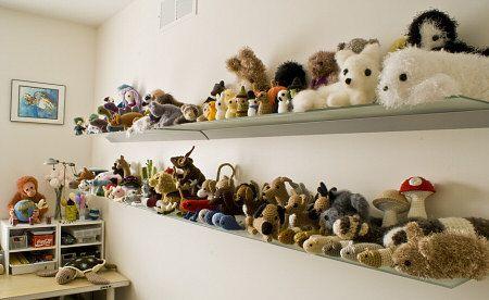 Excellent Stuffed Animal Shelves Liam Shelves In Bedroom Download Free Architecture Designs Lukepmadebymaigaardcom