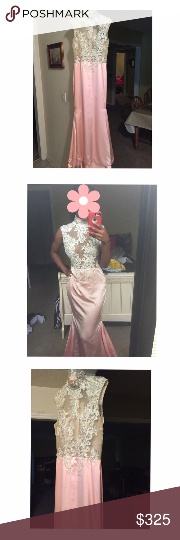 Mermaid silk satin prom dress my posh picks pinterest