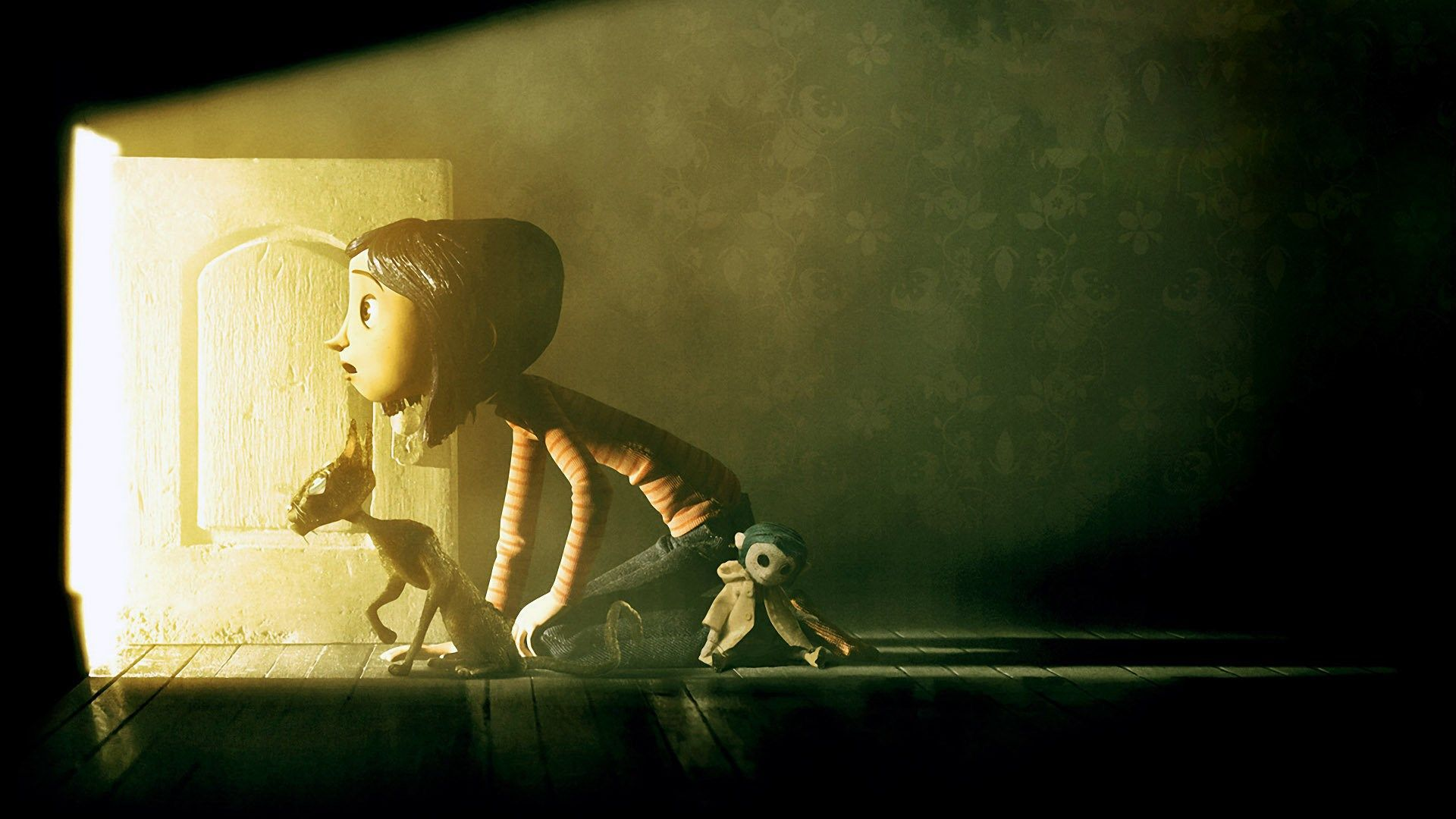 Silver Stevenson Coraline Backgrounds For Laptop 1920x1080 Px Coraline Coraline Movie Halloween Movies