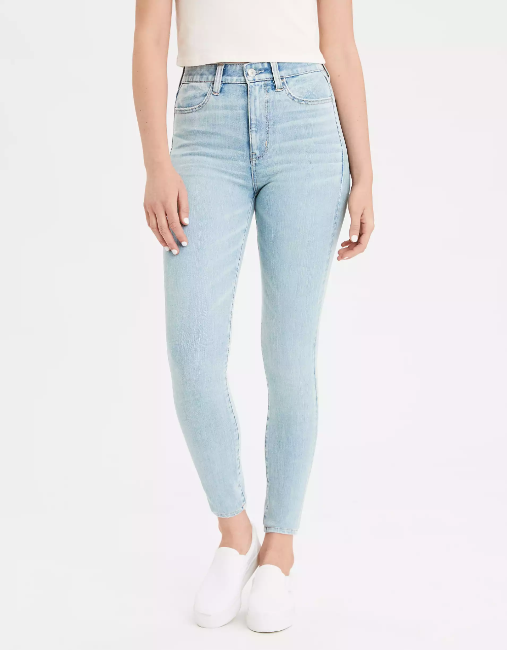 Ae 360 Ne X T Level Highest Waist Jegging With Images High Waist Jeggings High Waist Women Jeans Jeggings