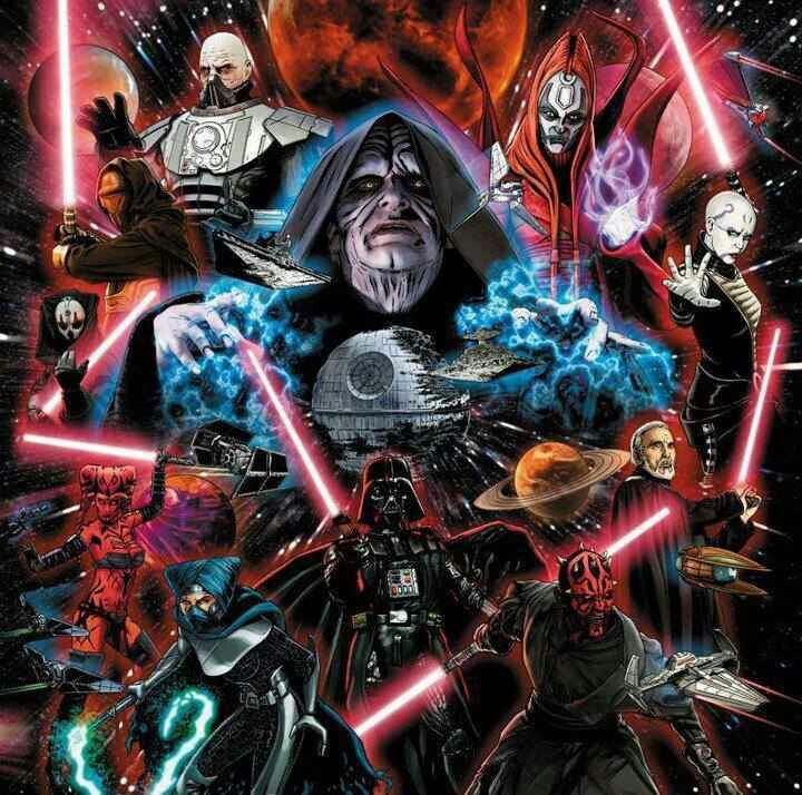 Sith Lords With Images Star Wars Artwork Star Wars Poster