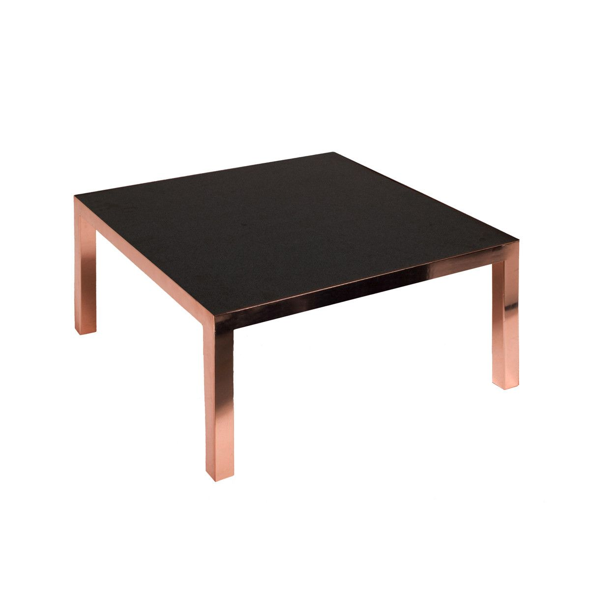 Tom Dixon Granite And Copper Coffee Table