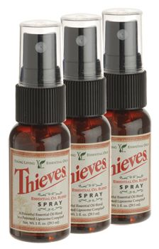 Young Living Thieves Spray 3 Pk Spray It In Your