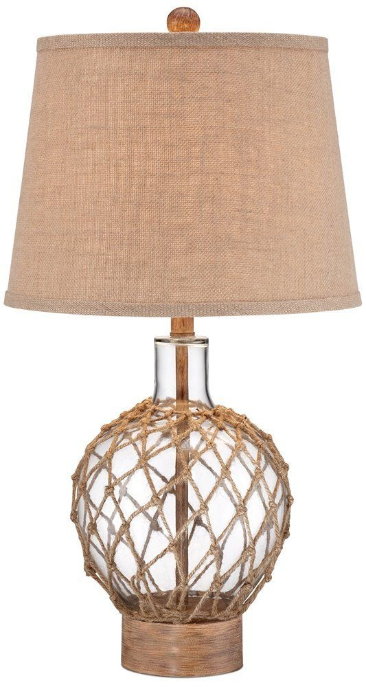 200 Best Coastal Themed Lamps 2020 Rope Lamp Table Lamp