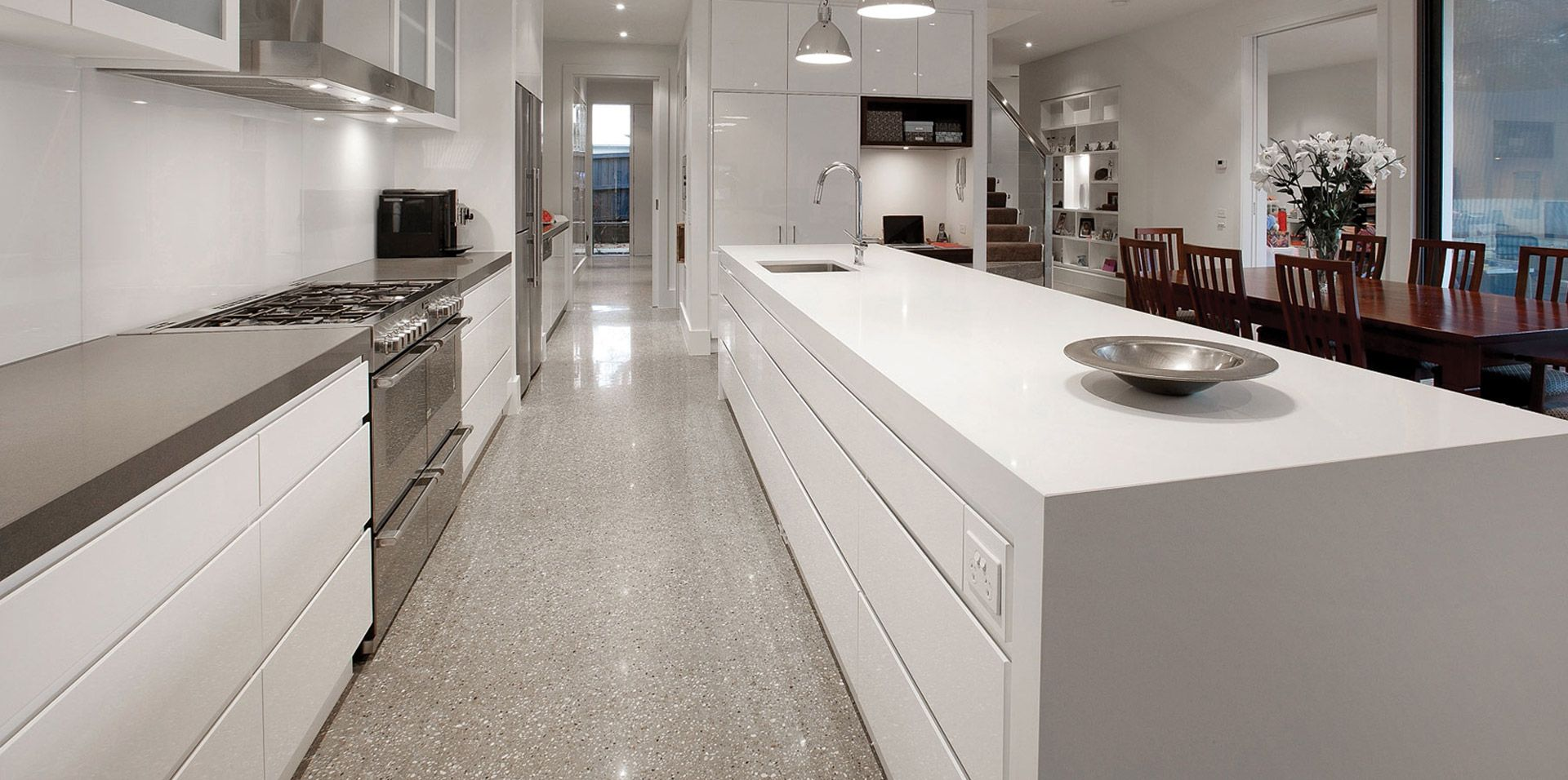 Kitchen galerie is melbourne cabinet makers that designs builds and installs custom built kitchens bathrooms