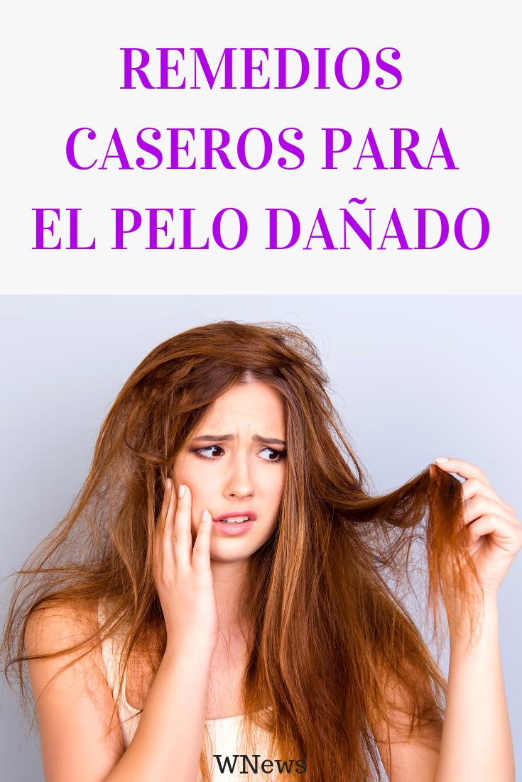 Remedios caseros para pelo seco y danado