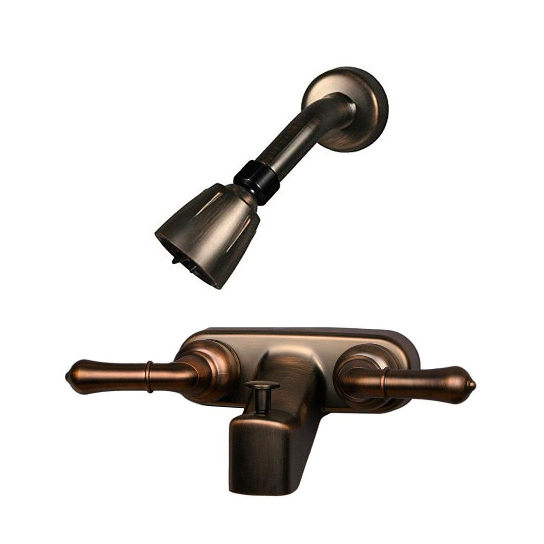 Ultra Faucets Rv Mobile Home Tub Shower Diverter And Shower Head