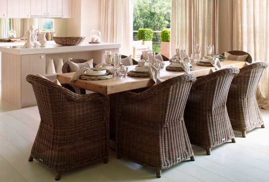Summer cottage dining
