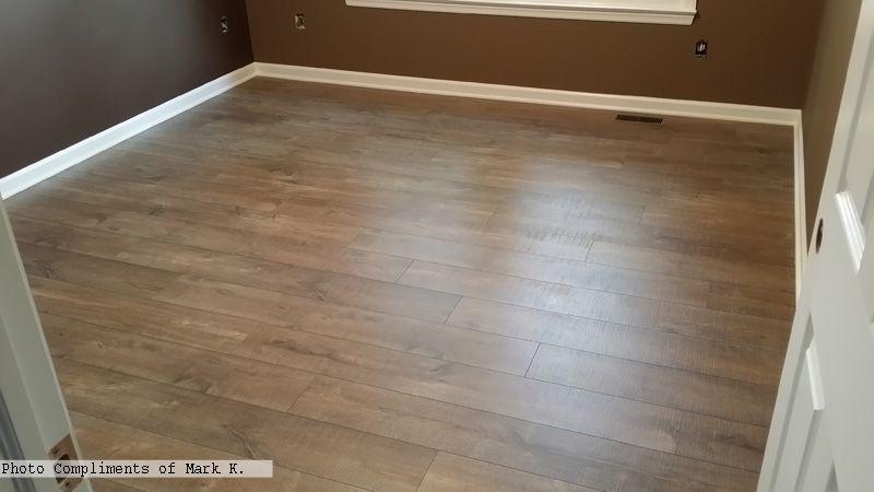 Quick-Step Mocha Oak Flooring In The #bedroom Photo Compliments: Mark K. # Laminate #oakflooring | Laminate Flooring, Flooring, Bedroom Flooring
