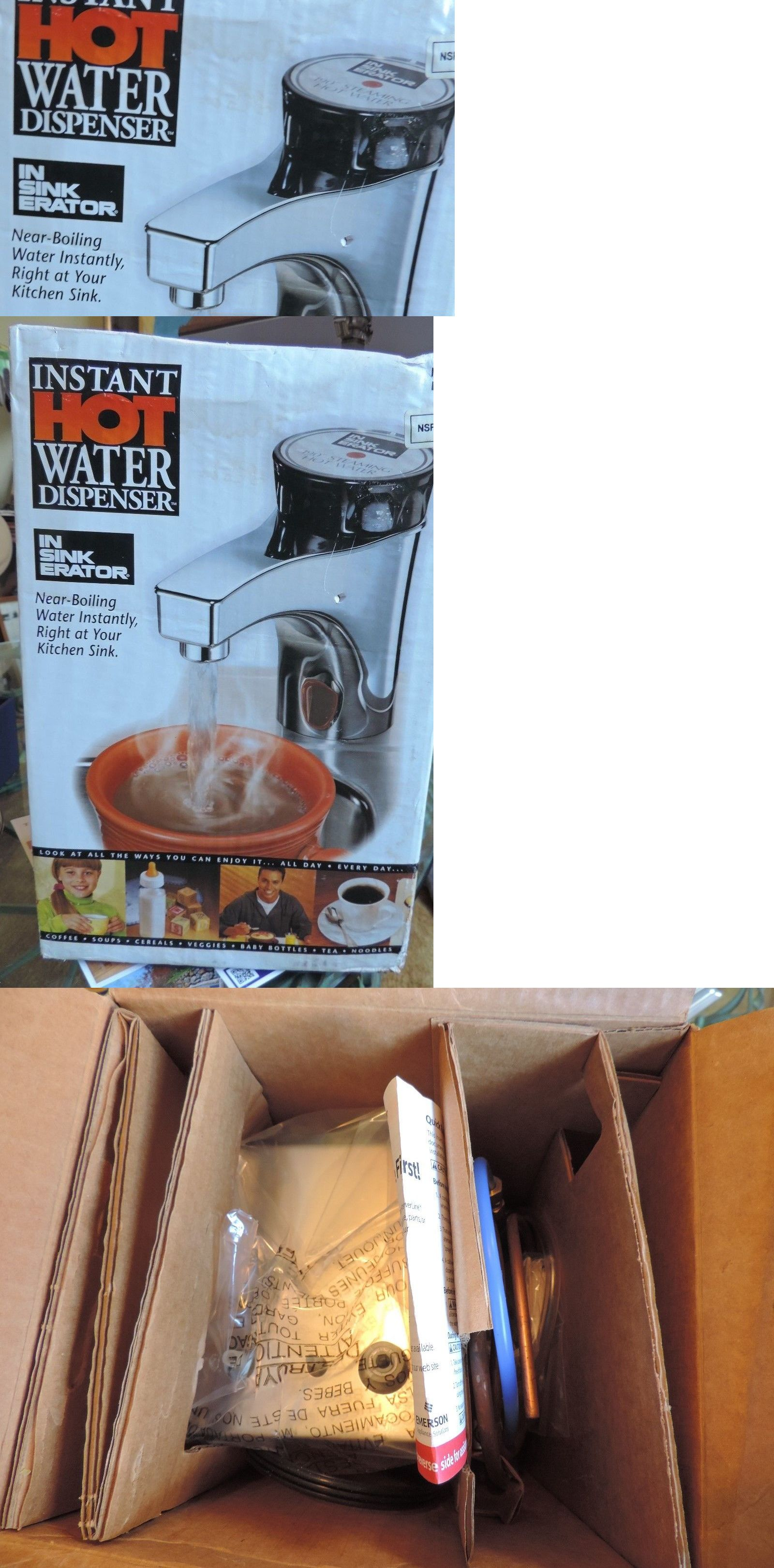 Hot Cold Water Dispensers 121848: Insinkerator Instant Hot Water Dispenser  H 770 Nib