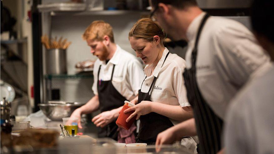 Restaurant Kitchen Chefs