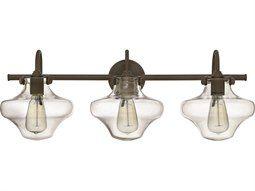 Hinkley Lighting Congress Oil Rubbed Bronze Three-Light Vanity Light