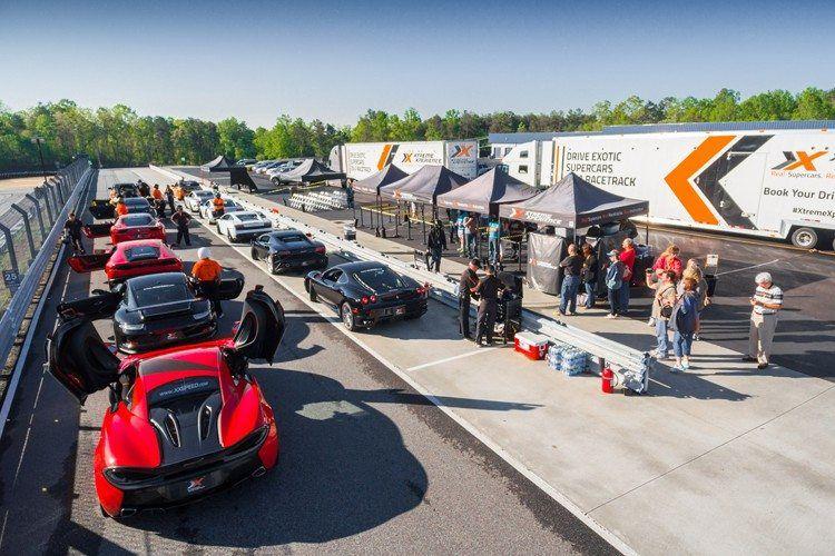 Atlanta Motorsports Park Racetrack Driving Experience