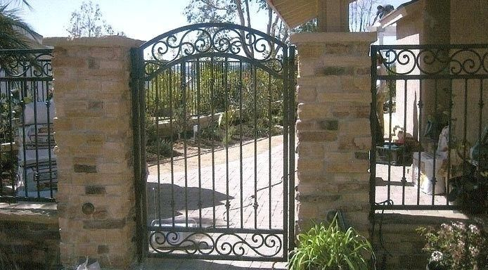 Brown Wrought Iron Fence Image Result For Wrought Iron Fence With