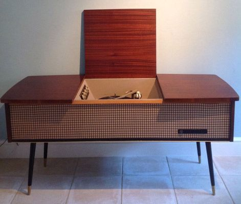 Gentil 1960s Pye Stereo System And Cabinet On EBay