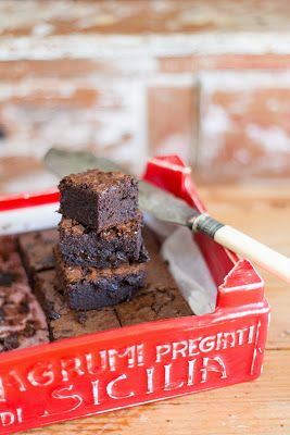 Receta del brownie clásico   La cocina de Carolina