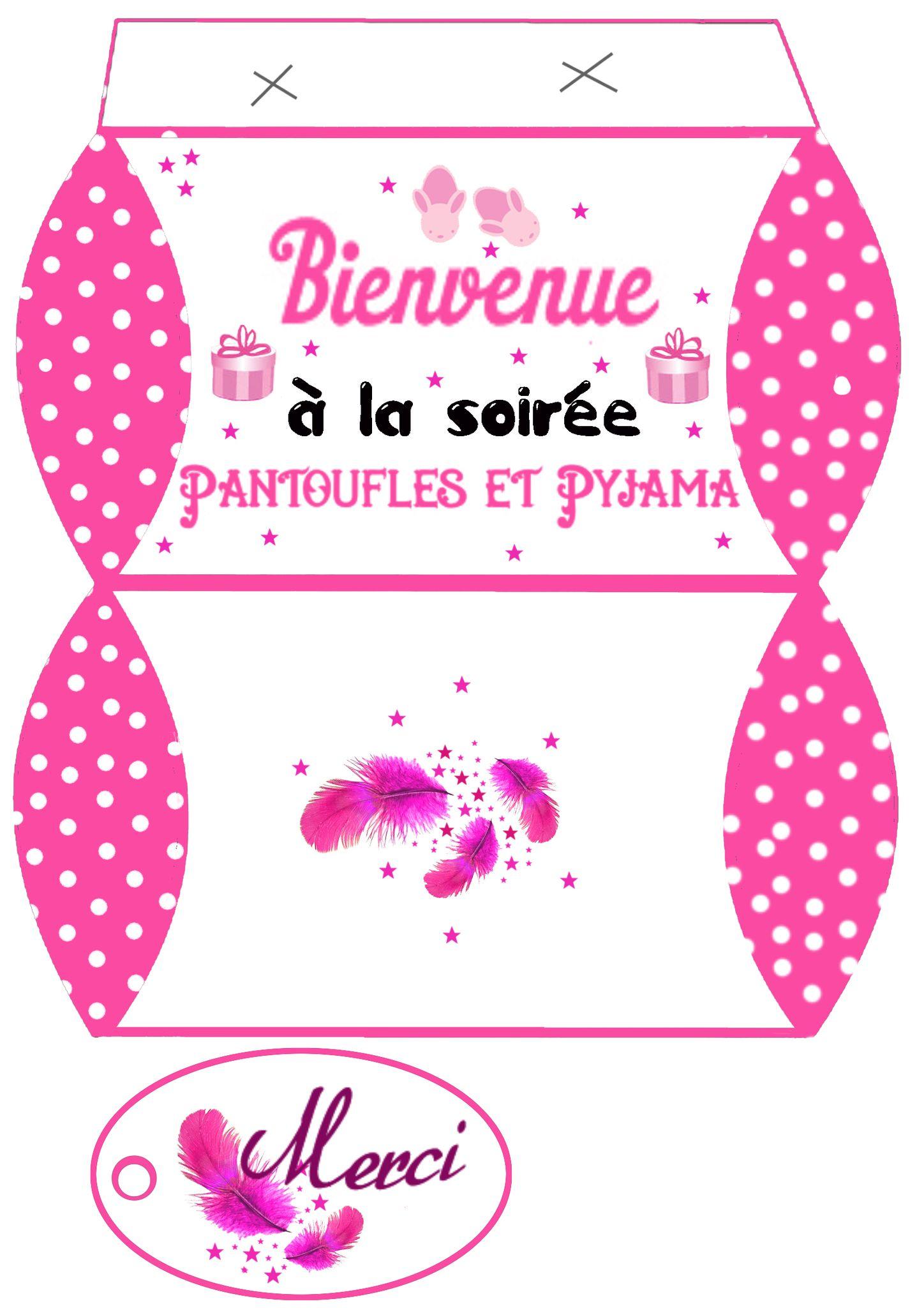 PYJAMA PARTIE ET SOIREE CONTES SUR L'OREILLER ....chouette ...