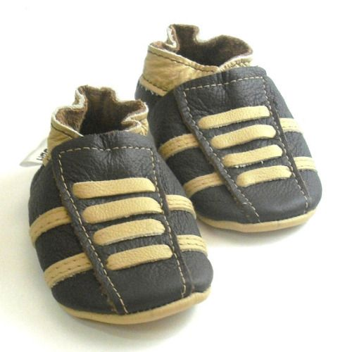 Buy Now Soft sole baby shoes leather infant sport dark-brown ...