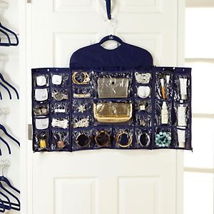 Joy Mangano Huggable Hangers 30 Pocket Closet Organizer at HSNcom