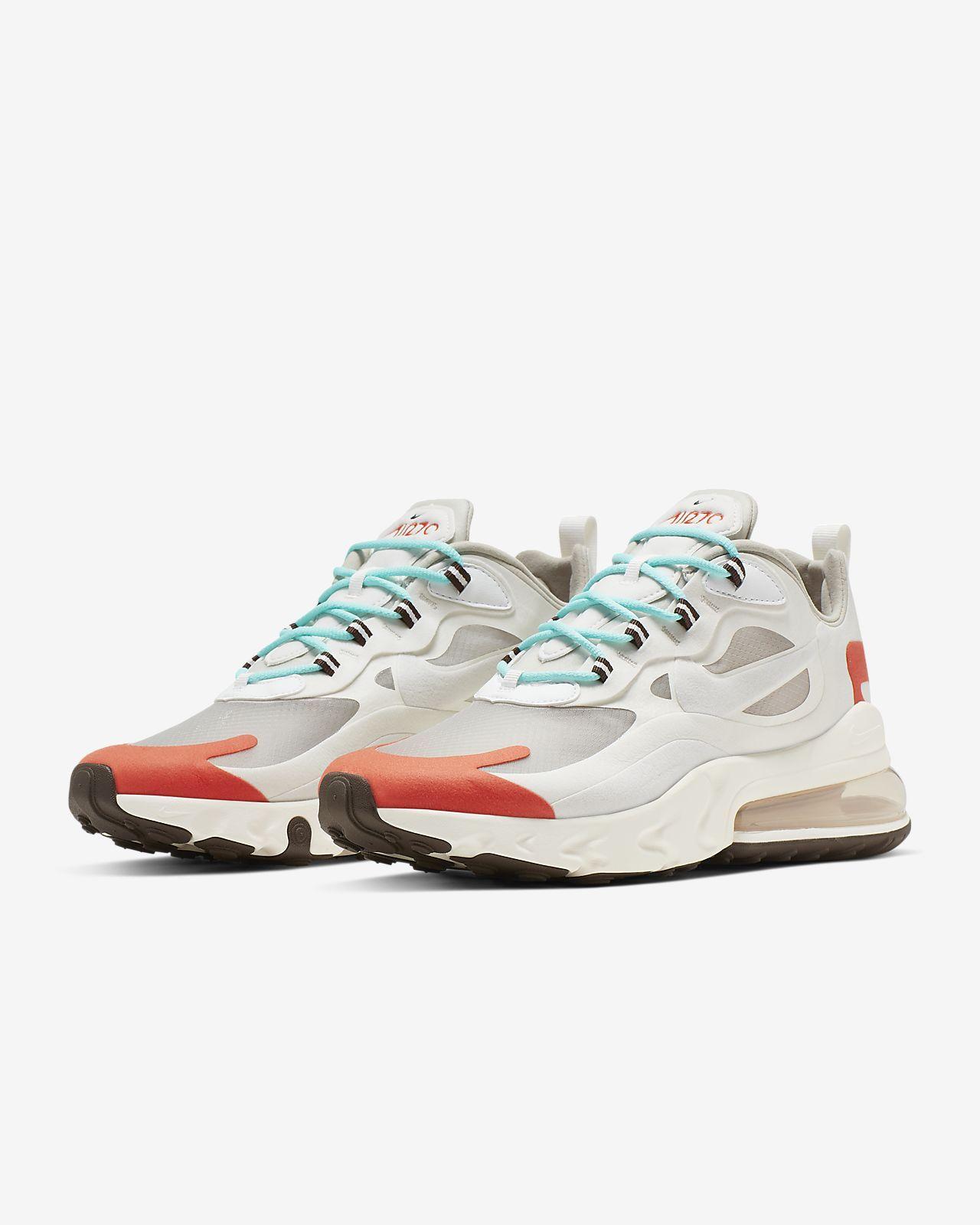 air max 270 react colorblocked kadın sneaker