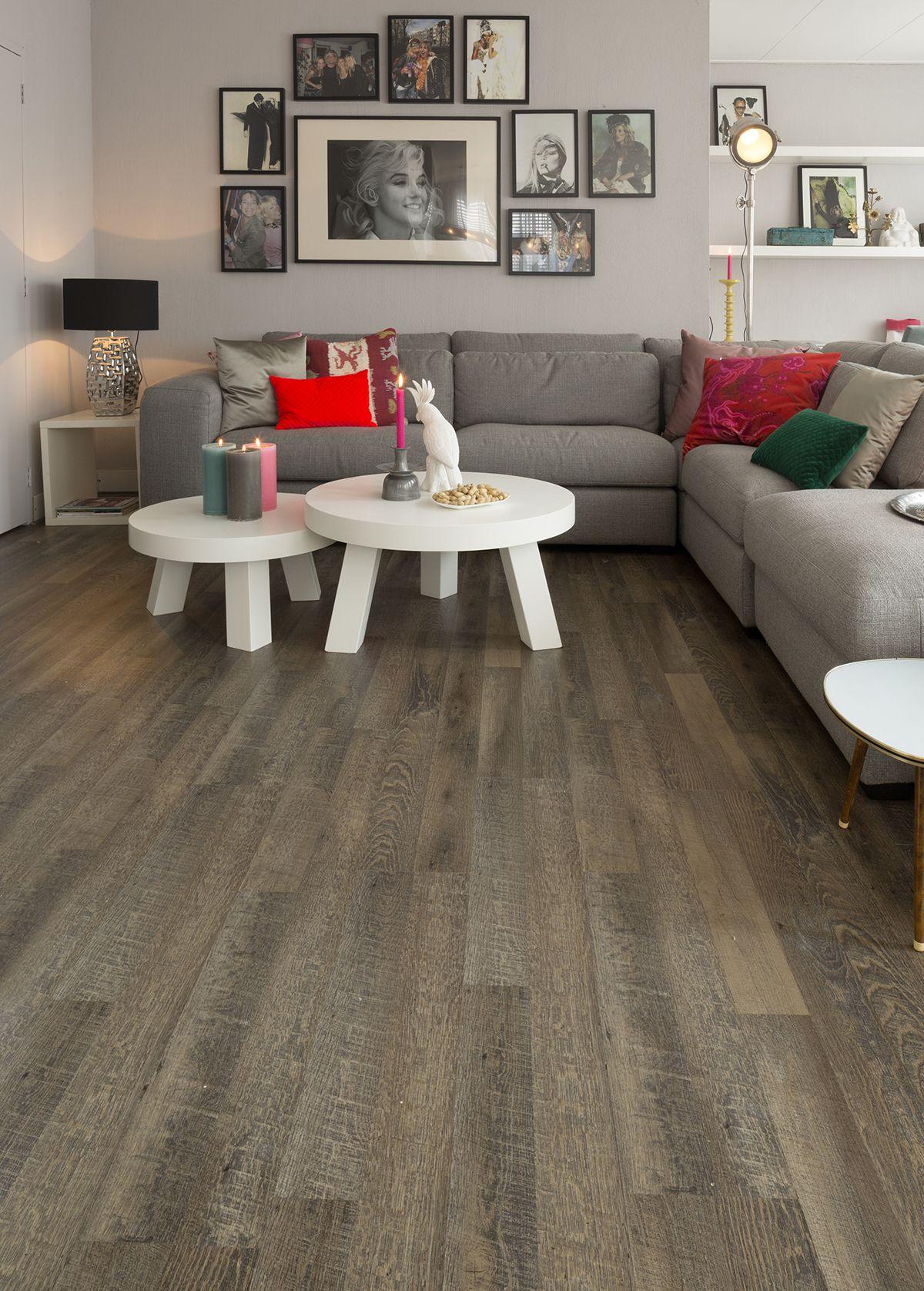 Add warmth with wood effect flooring. Flexxfloor Click Deluxe ...