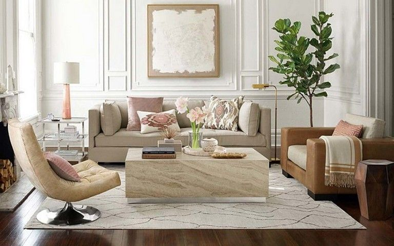 45 Simple And Comfortable Living Room Design Ideas Comfortable