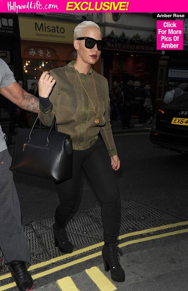 Amber Rose Why She Dissed Kim Kardashian As Fake With Birkin Bag Message