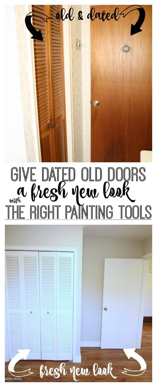 Photo of How to Give Old Wooden Flat Panel Doors a New Lease On Life,  #Doors #Flat #give #Lease #life…