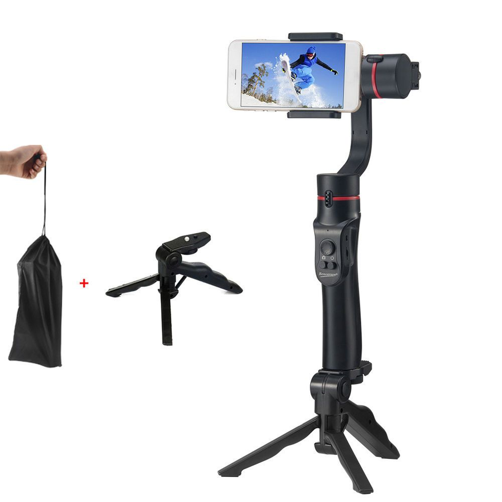 Gimbal Stabilizer Tthe Gimbal Can Lock The Character And Move It As The Character Moves 1 Handhold Gimbal Tripod Stand Solid A Phone Tripod Tripod Handheld