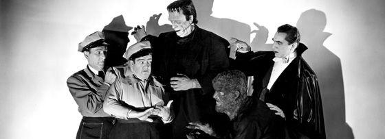 1948's Abbott and Costello Meet Frankenstein got some of the