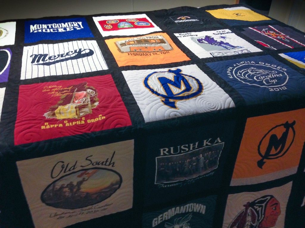 Gallery Quilts, Shirt quilt, Memory quilt