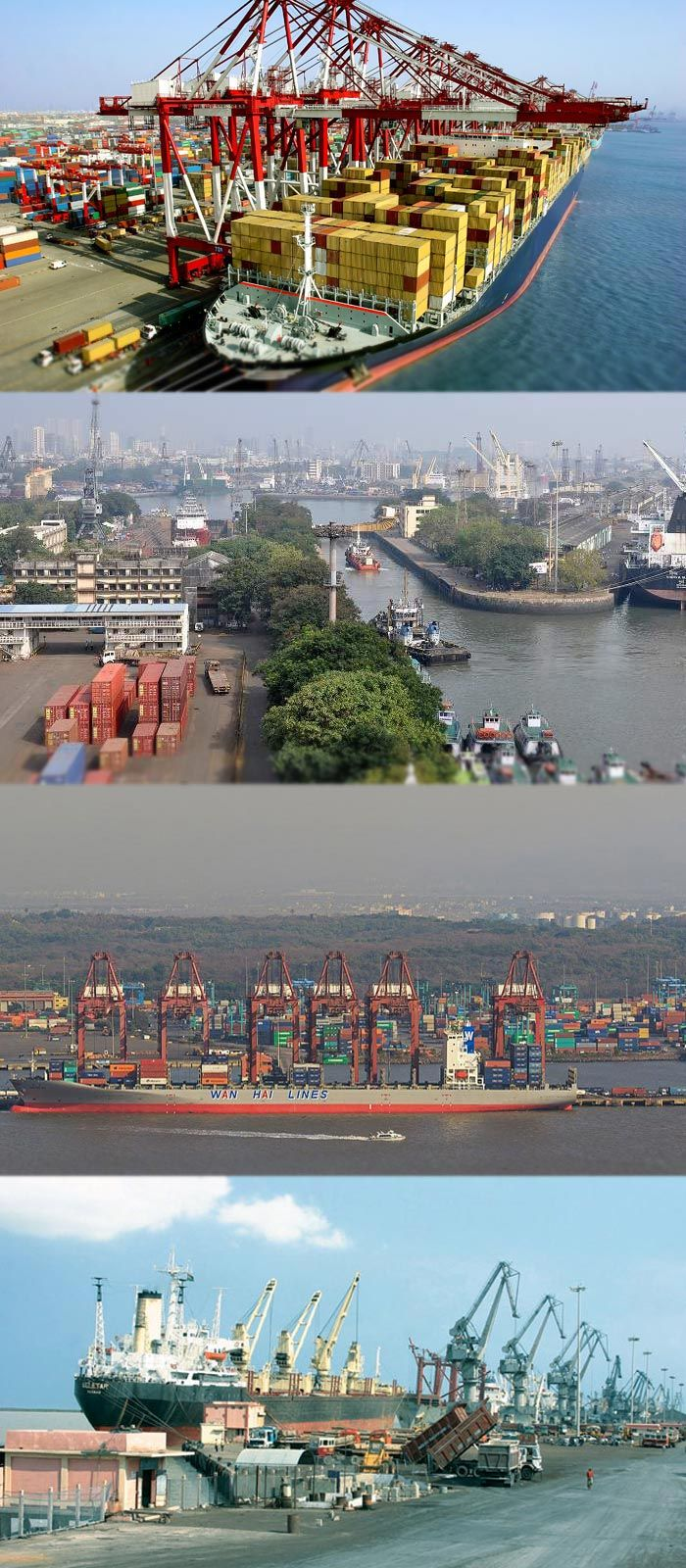 Listing the busiest Indian_Cargo_Ports Visit at https