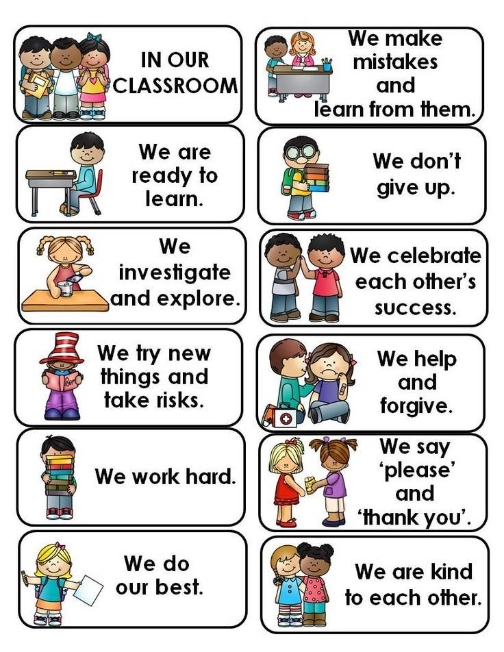Classroom expectations in english and spanish classroom