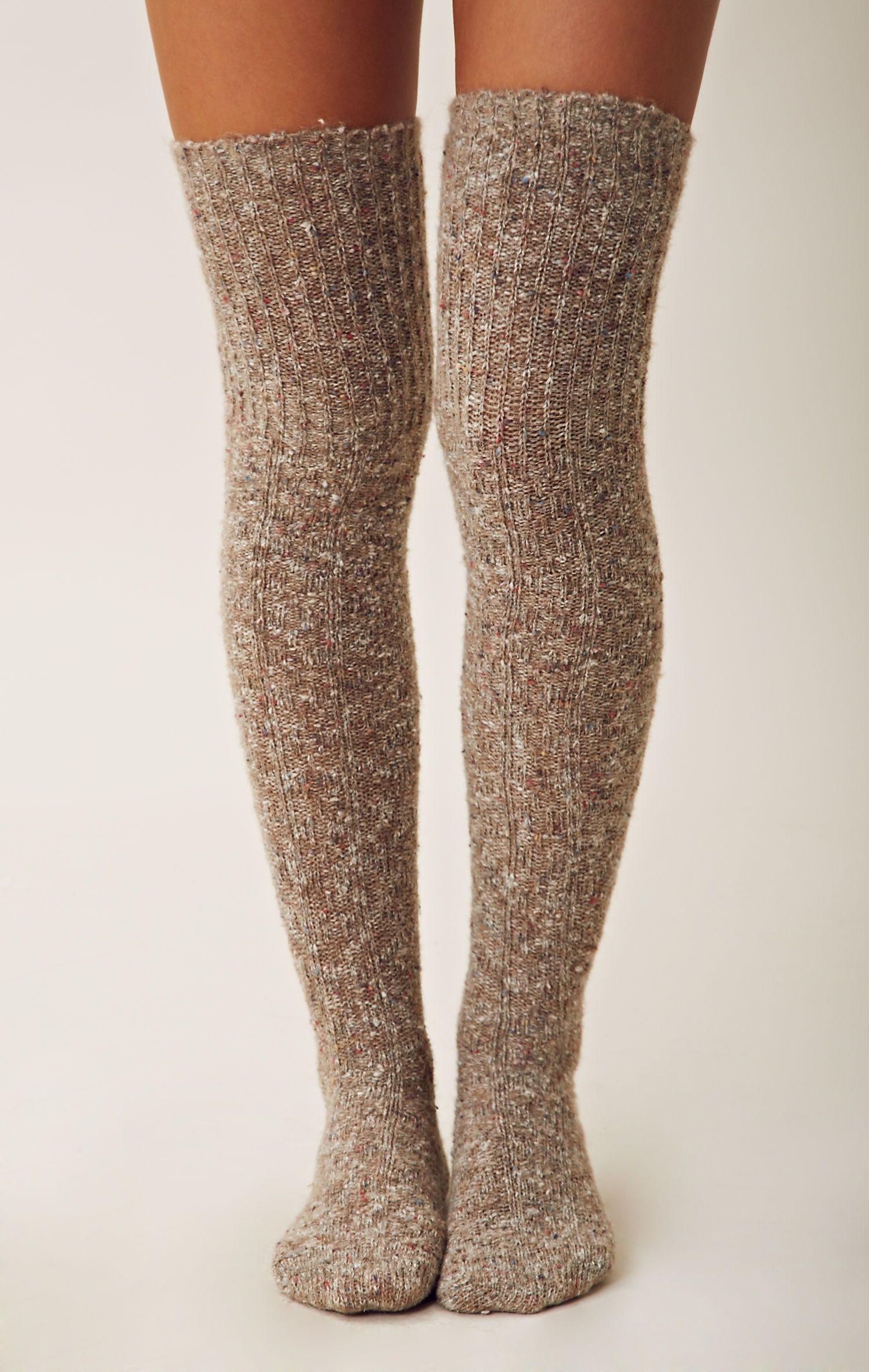 Vintage thigh high socks