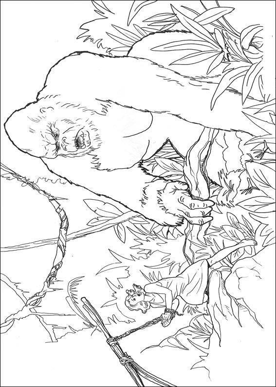 King Kong King Kong Coloring Pages Coloring Pages To Print