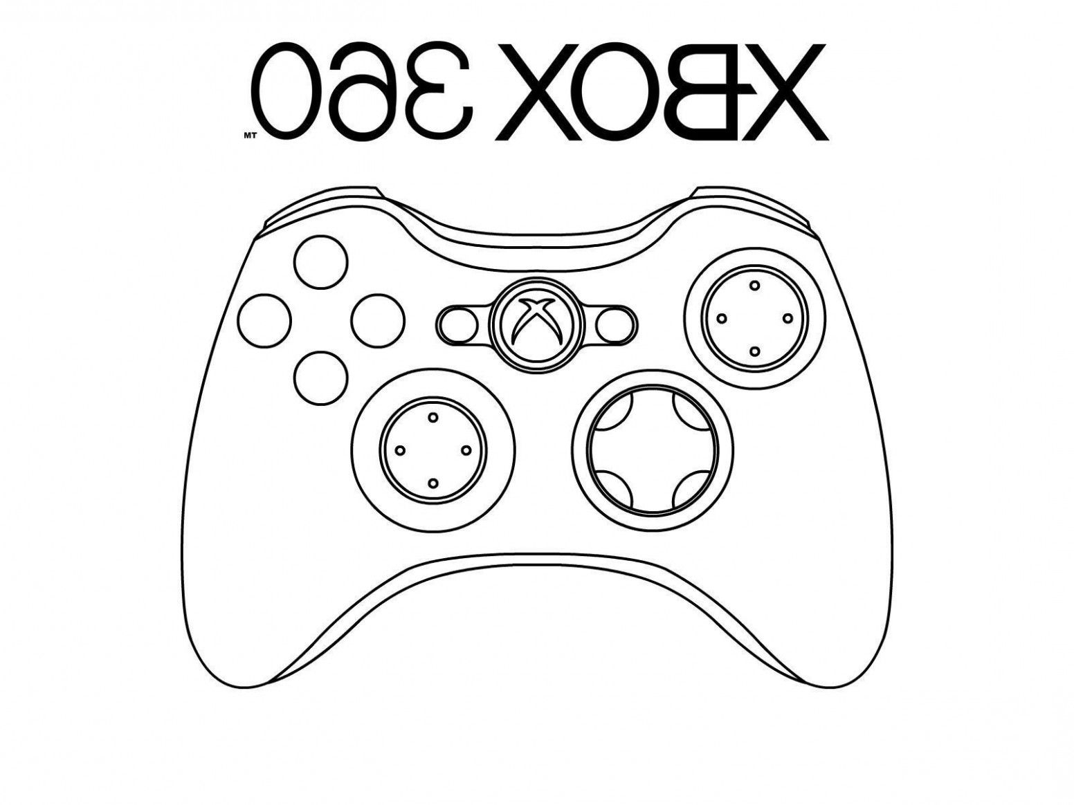15 Common Myths About Printable Xbox Coloring Pages Coloring