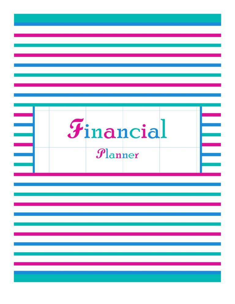 Financial Tracker Pinterest Financial planning