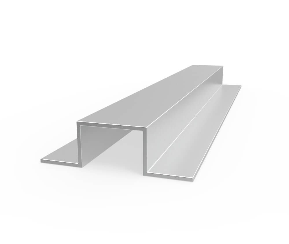 Aluminum Hat Channels Aluminum Extruded Aluminum Decor