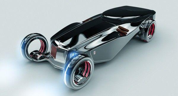 Voici une vision futuriste de la marque de voitures Rolls Royce, dessinée et imaginée par le designer automobile Ying Hern Pow. Cette Rolls Royce qui porte