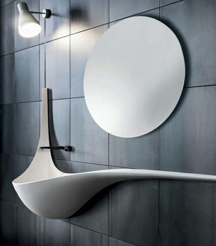 Waschtisch Aus Holz Und Andere Rustikale Badezimmer Ideen Badezimmer Rustikal Badezimmerideen Rustikale Bader