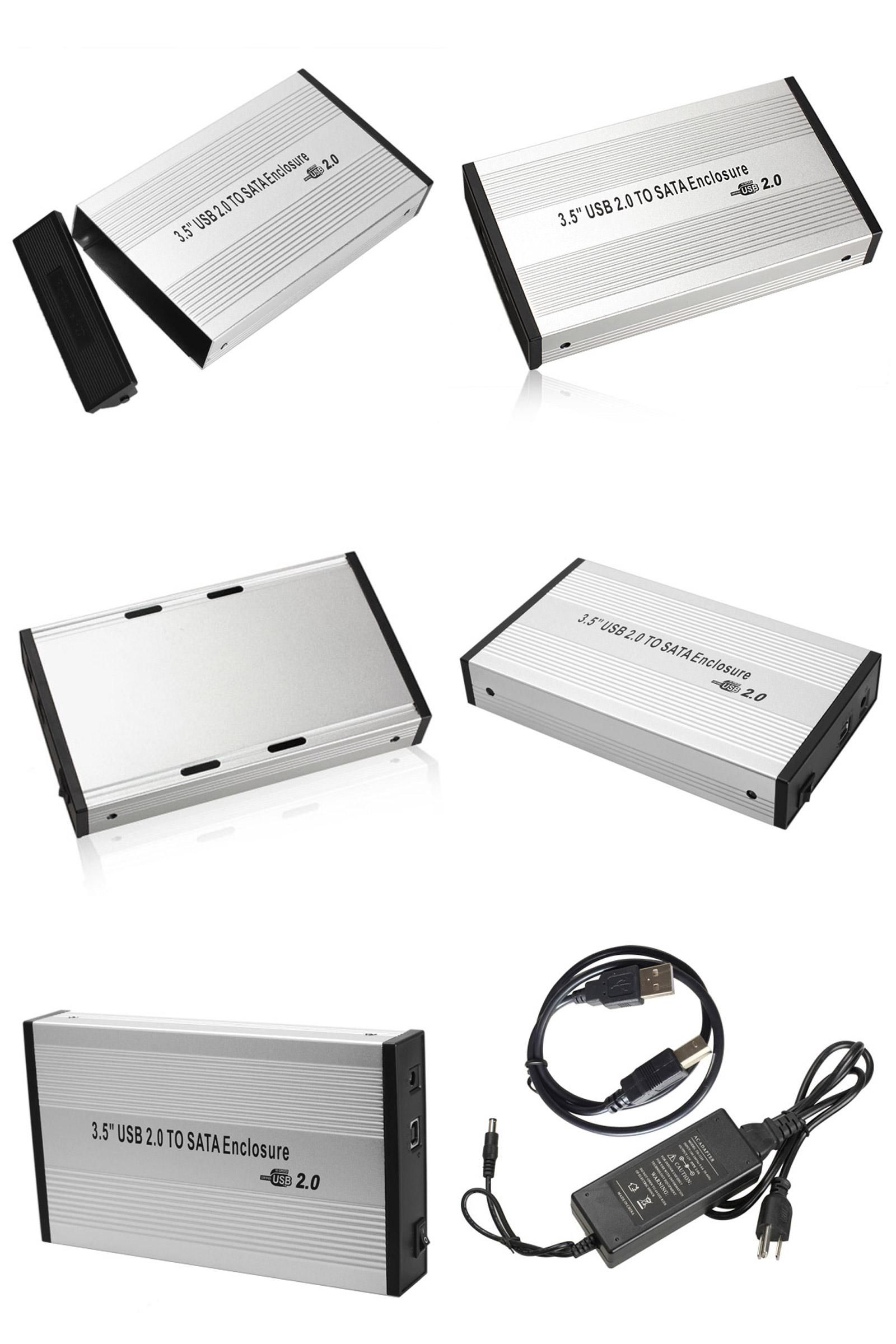 Visit To Buy Aluminum Usb 20 Sata 35 Hdd Hard Disk Drive Casing Hardisk 25 Inch External Case Laptop
