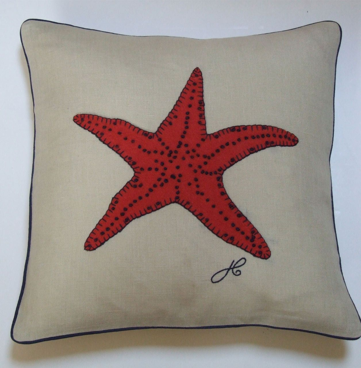 Mini Star Fish Cushion - Jan Constantine