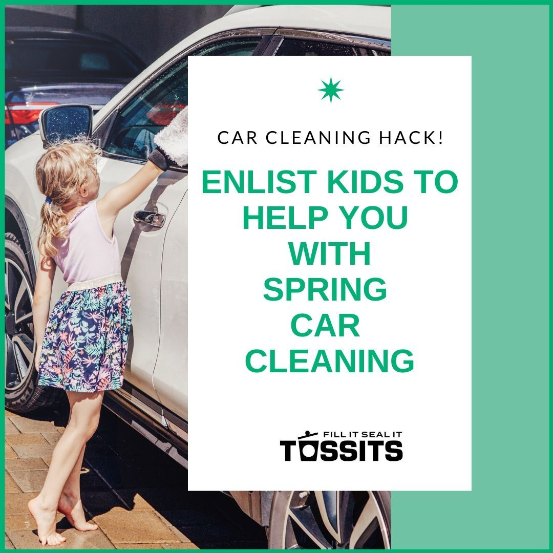 From Tossits Lets clean it up with Tossits See all the creative ways people are using Car garbage bag w adhesive strip seals in car trash after closing bag On Amazon or...