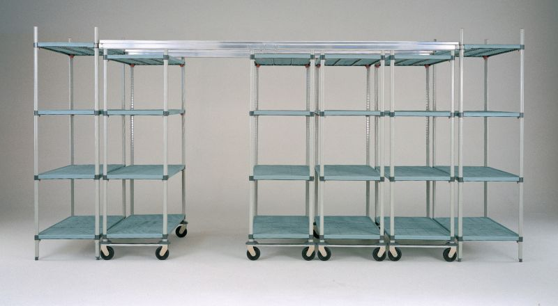 Metromax Q Top Track System High Density Storage Storage Cabinets Shelving
