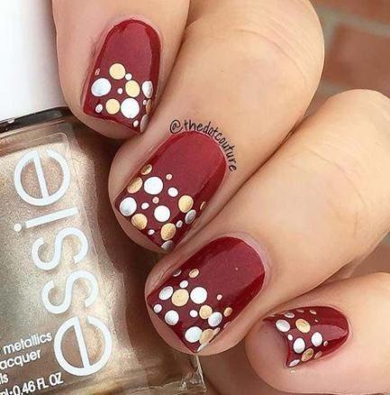 Holiday Nails Red Polka Dots 31 Trendy Ideas Holiday Nails Red Polka Dots 31 Trendy Ideas