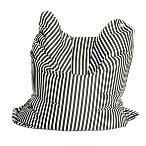 The Bull 75 In Fashion Bag Black White Black White Fashion White Bean Bags Sitting Bull
